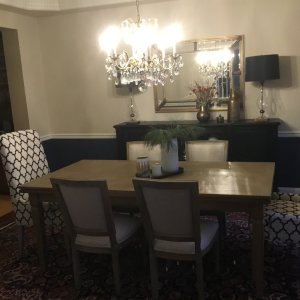 Luciano Dining Table in Weathered | Arhaus Furniture