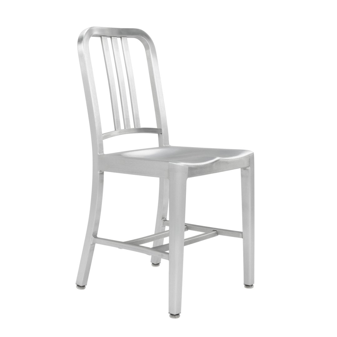 Behind The Design Of The Navy Chair By Emeco At Lumens Com