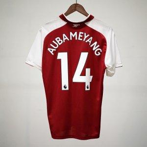 @aubameyang97 is @arsenal's new #14.  </ul> </div> </div> </div> </div> <div class=