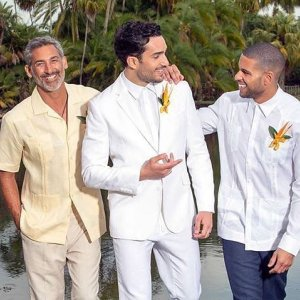 Linen Shirt Men Mens White Dress Long Sleeve