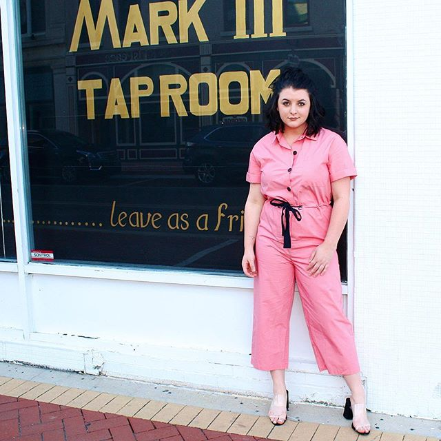 Womens Short Sleeve Belted Jumpsuit Who What Wear Pink Target Finds