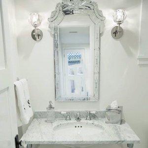 Venetian Vanity Mirror 20th Century Mirror Roaring 20s Mirror