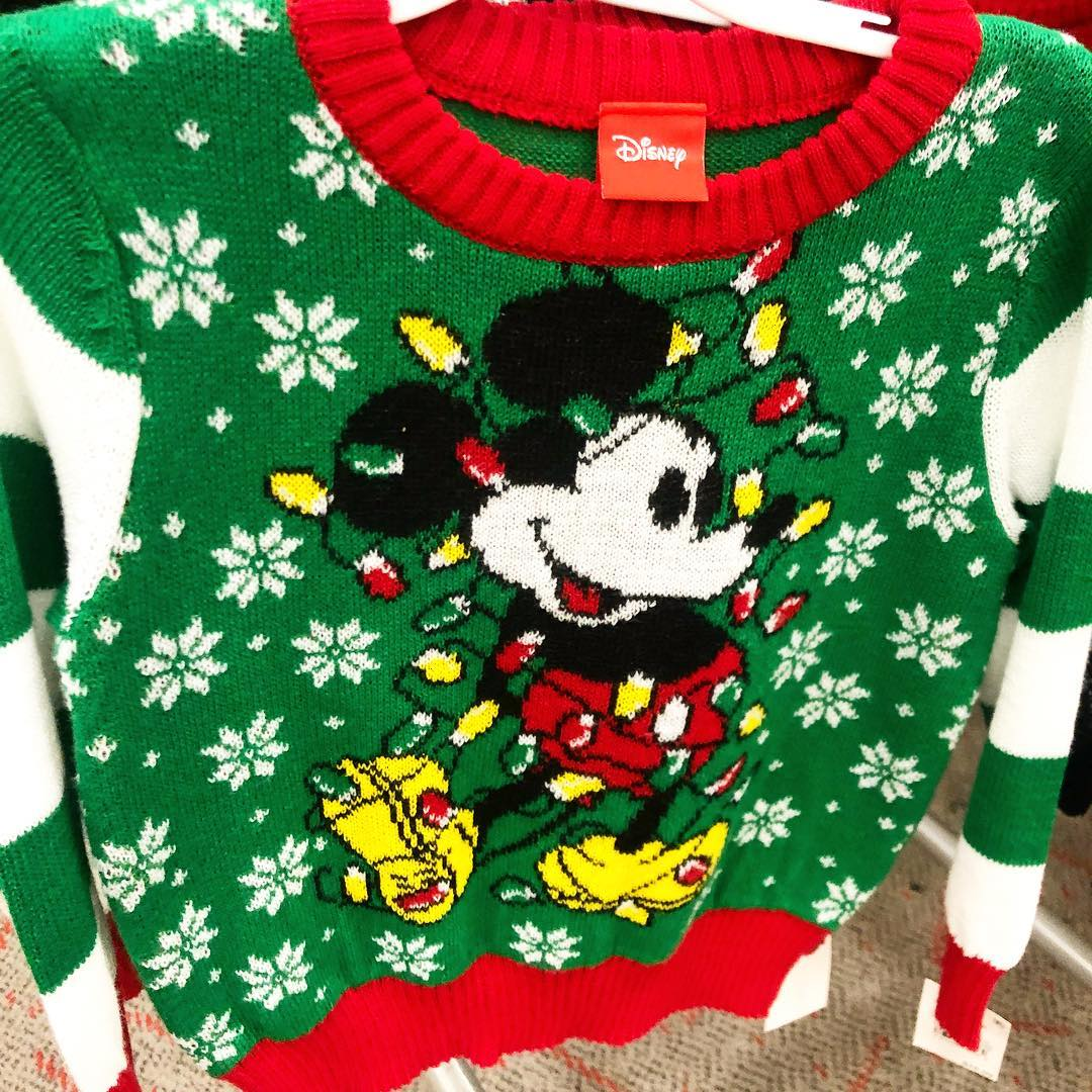 0bf8ba9a034139 Toddler Boys' Disney Mickey Ugly Holiday Sweater - Green : Target Finds
