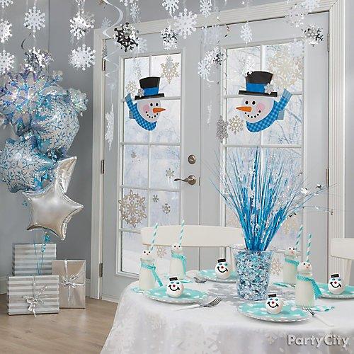 Idea 7 Gather Friends Inside For Some Frosty Festive Fun