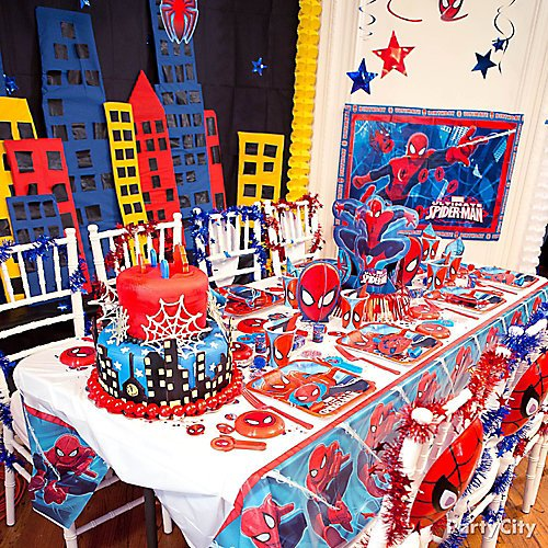 Curated Image With Ultimate Spider Man Tableware Party Kit For 8 Guests