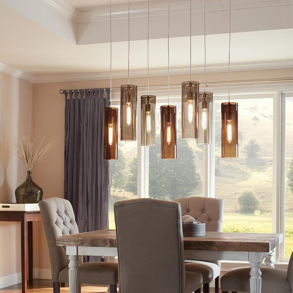 Dining Room Pendant Lighting Ideas Advice At Lumenscom - Pendulum lights for dining room