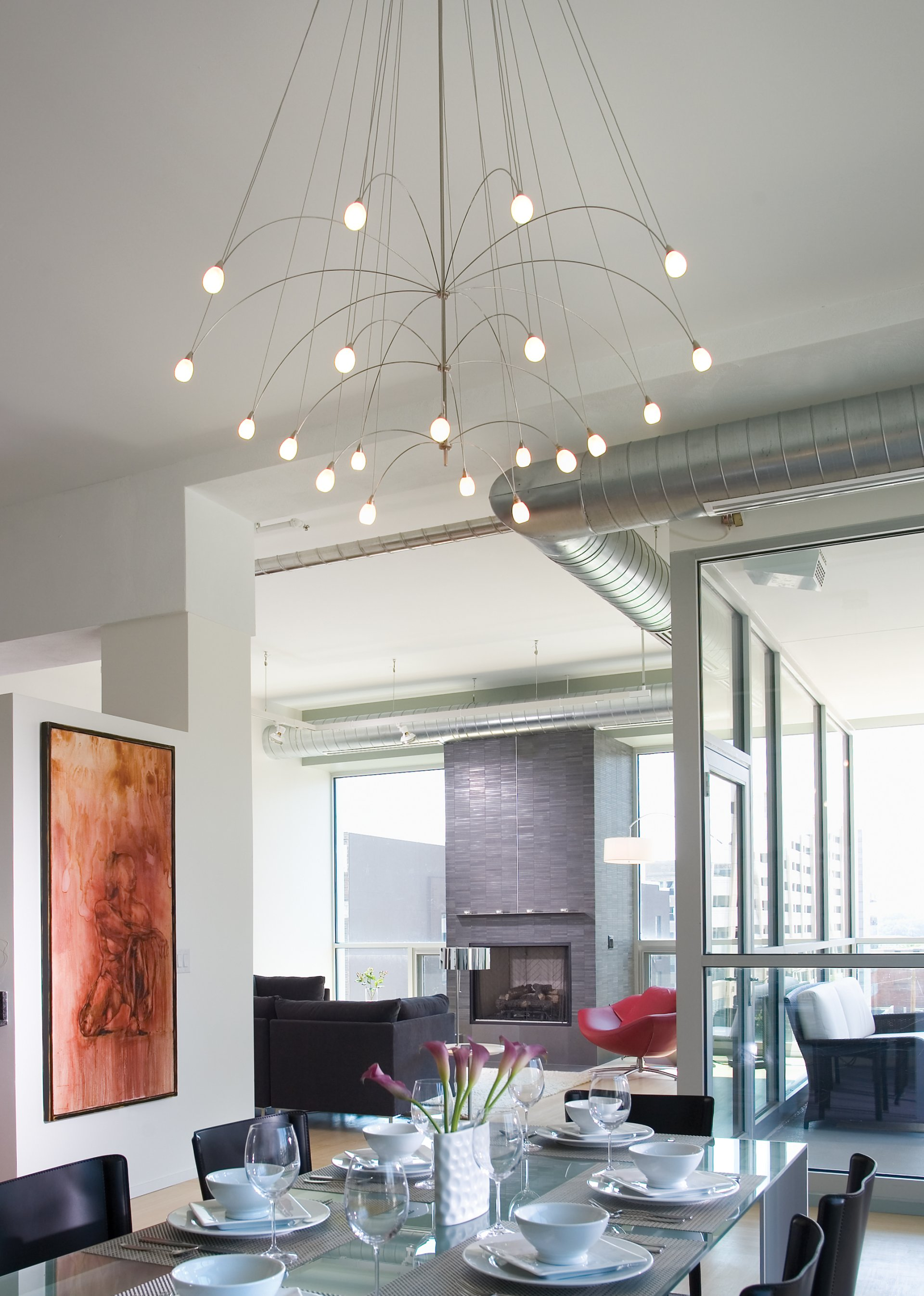 Curated image with LBL Lighting - Twilight 20 Light Chandelier
