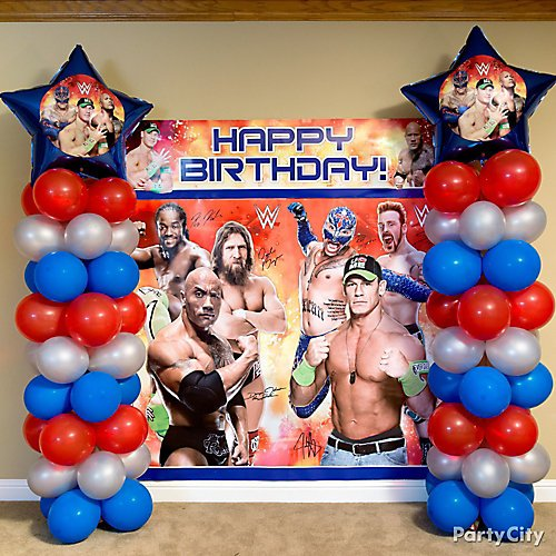 Wwe Party Ideas Party City